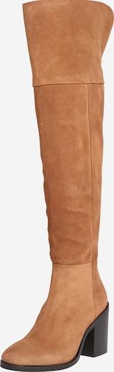 Cizme peste genunchi TOMMY HILFIGER pe coniac, Vizualizare produs