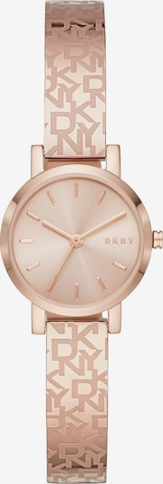 DKNY Uhr in rosegold, Produktansicht