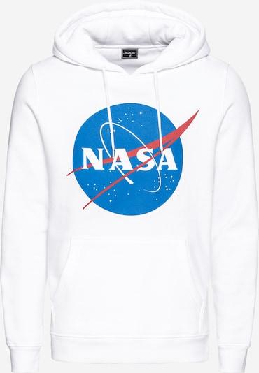 Mister Tee Sweat-shirt 'NASA' en bleu / rouge / blanc, Vue avec produit
