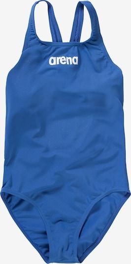 ARENA Kinder Badeanzug 'SOLID SWIM PRO' in blau, Produktansicht