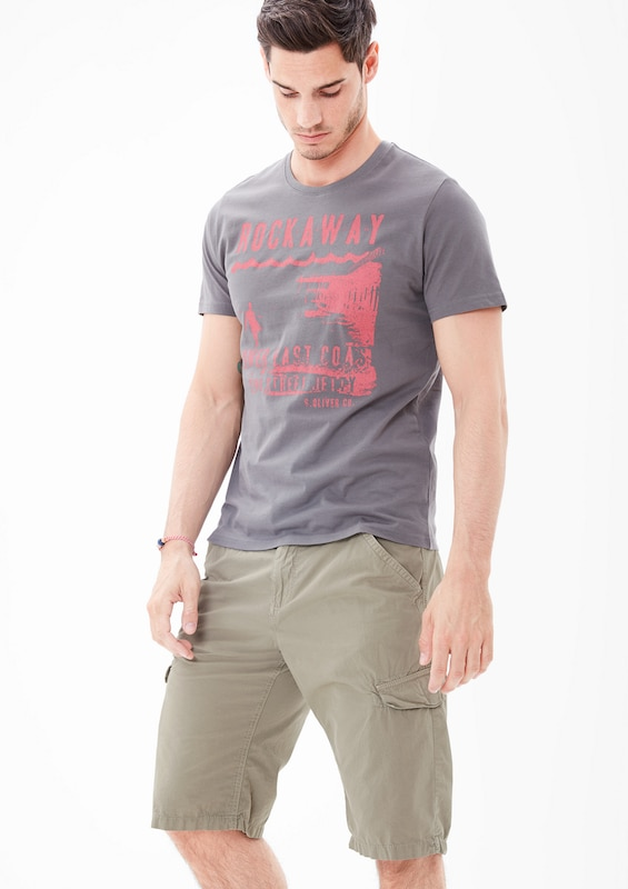s.Oliver RED LABEL 'File Loose' Cargo-Bermuda