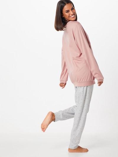 CALIDA Pyjama 'Sweet Dreams' in de kleur Rosé: Achteraanzicht