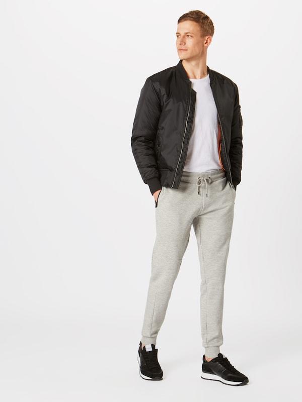 Pantalon En Chiné Jones Jackamp; Gris WE29IYHD