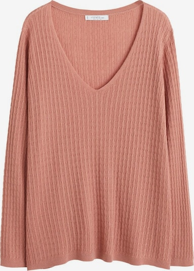 VIOLETA by Mango Pullover 'Cable' in rosé, Produktansicht