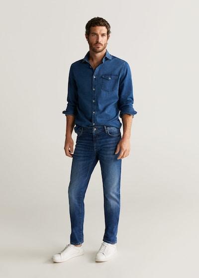 MANGO MAN Jeans tim in kobaltblau, Modelansicht