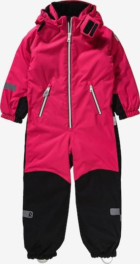 Reima Schneeanzug 'Finn' in pink / schwarz, Produktansicht