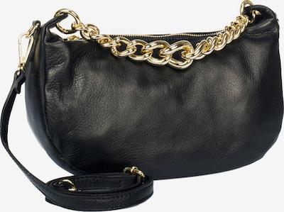 faina Abendtasche in gold / schwarz, Produktansicht