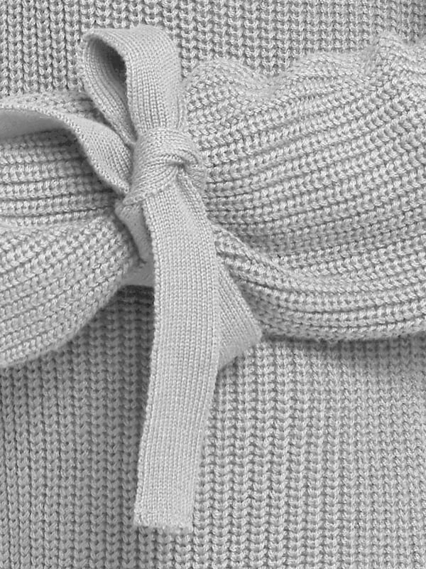 B.C. Best Connections by heine Grobstrickpullover mit Ärmel mit Bindebändern