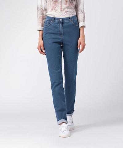 BRAX Jeans 'Ina Fay' in de kleur Donkerblauw, Modelweergave