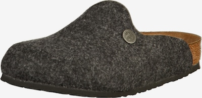 BIRKENSTOCK Clogs 'Amsterdam' in cognac / basaltgrau / graumeliert, Produktansicht
