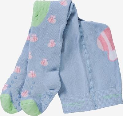 STERNTALER Strumpfhose in rauchblau / mint / pink, Produktansicht