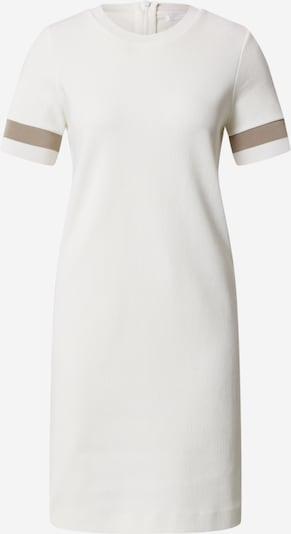 BOSS Šaty 'Dastriped' - krémová / bílá, Produkt