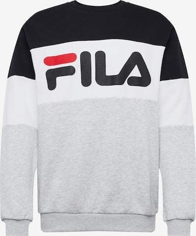 FILA Sweater majica u siva / crna / bijela, Pregled proizvoda