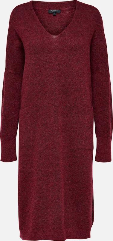 SELECTED FEMME Kleid in rubinrot  Markenkleidung für Männer und Frauen