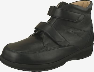 Natural Feet Klettschuh 'Narvik' in schwarz: Frontalansicht