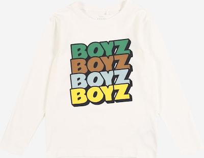 NAME IT Shirt 'VUX' in mischfarben / weiß, Produktansicht