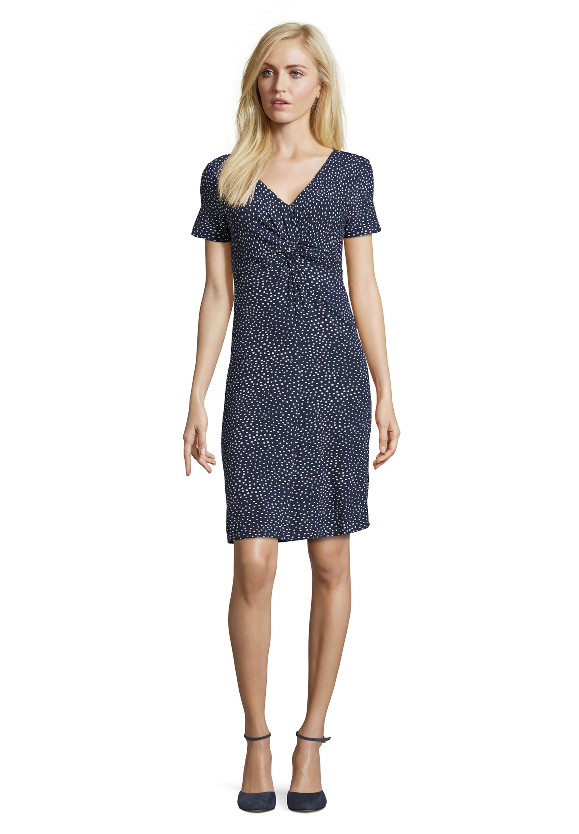 Kleid Betty In Betty DunkelblauWeiß Barclay Barclay N8wv0mnO