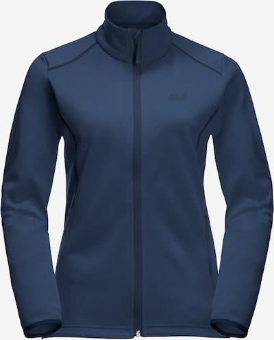 Jachetă  fleece funcțională JACK WOLFSKIN pe albastru închis, Vizualizare produs