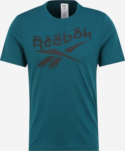 REEBOK Sportshirt 'GS Branded Crew' in petrol, Produktansicht