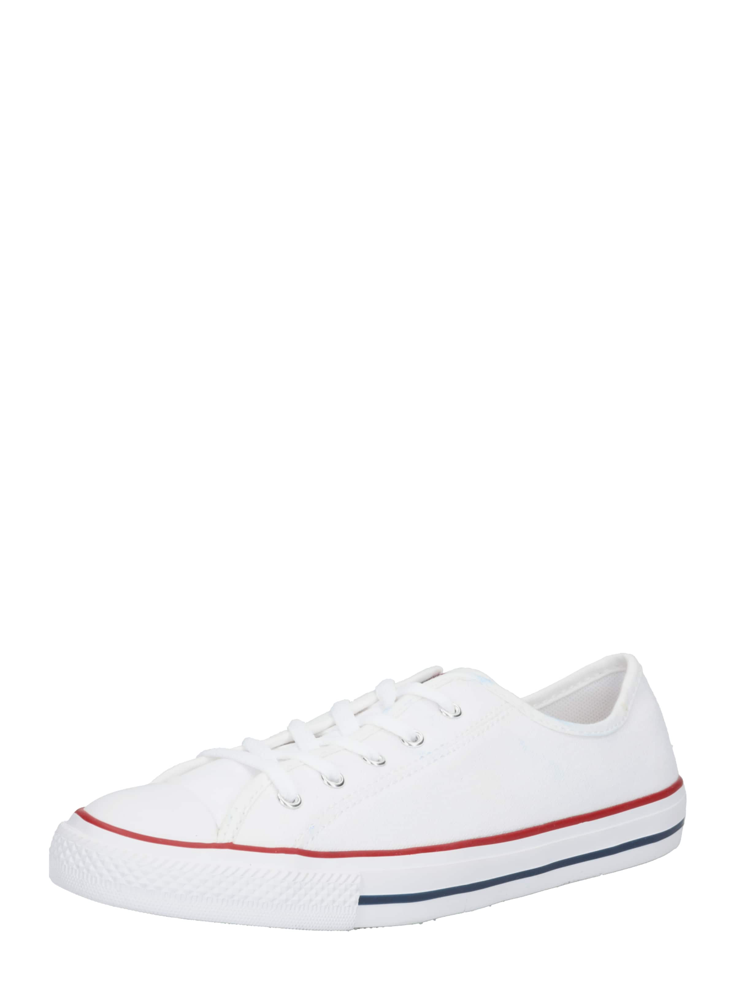 CONVERSE Turnschuhe 'CHUCK TAYLOR ALL STAR DAINTY GS BASIC CANVAS - OX' in weiß