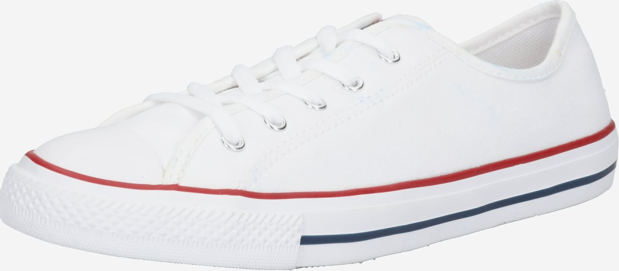 CONVERSE Baskets basses 'CHUCK TAYLOR ALL STAR DAINTY GS BASIC CANVAS - OX' en blanc, Vue avec produit