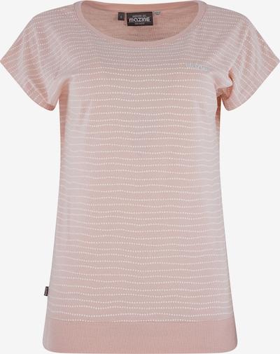 mazine Shirt 'Derry' in altrosa / weiß, Produktansicht