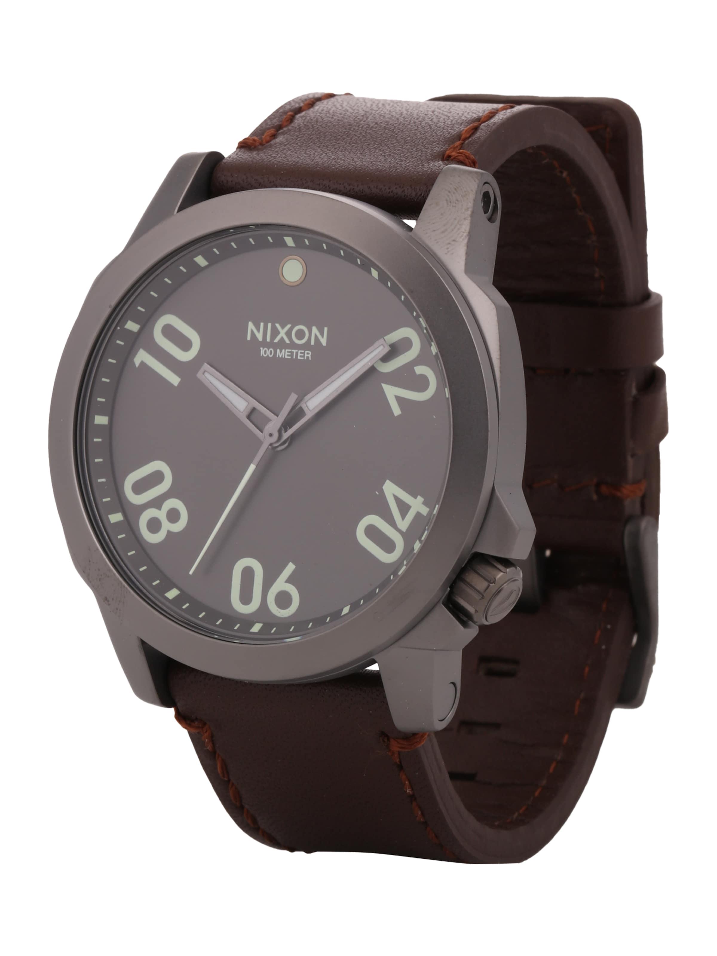 Nixon Armbanduhr 'Ranger 45 Leather' Für Schön Zu Verkaufen Insbesondere Rabatt Billigste Zum Verkauf Billig Verkauf Blick Kaufladen Hp1ATK