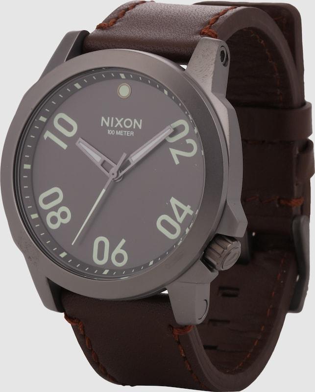 Nixon Armbanduhr ranger 45 Cuir