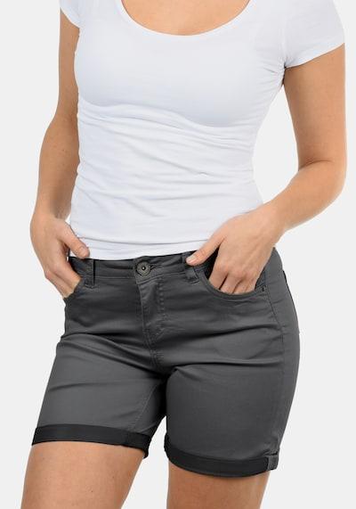 DESIRES Jeansshorts 'Lila' in dunkelgrau, Produktansicht