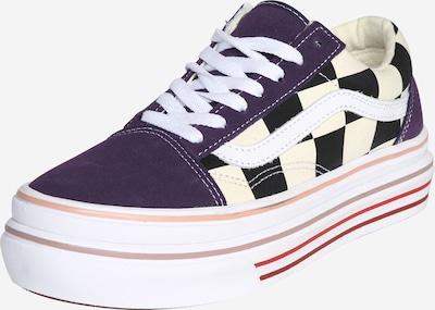 VANS Zapatillas deportivas bajas en lila oscuro / negro / blanco, Vista del producto