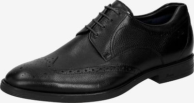 SIOUX Schnürschuh 'Forkan-XL' in schwarz: Frontalansicht