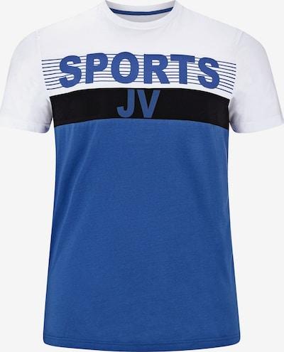 Jan Vanderstorm T-shirt ' Berdines ' in blau / schwarz / weiß, Produktansicht