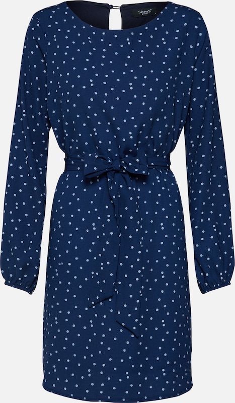 Point MarineBlanc Robe Bleu En Sisters NOkw80XnP