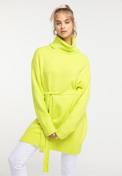 MYMO Kleid in limette, Modelansicht