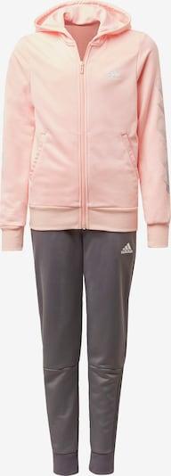 ADIDAS PERFORMANCE Trainingsanzug in grau / pastellpink, Produktansicht