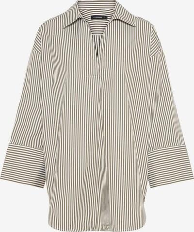 J.Lindeberg Hemd 'Iggie' in oliv / weiß, Produktansicht
