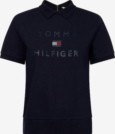 TOMMY HILFIGER Poloshirt 'Tiara Relaxed Bling' in dunkelblau, Produktansicht