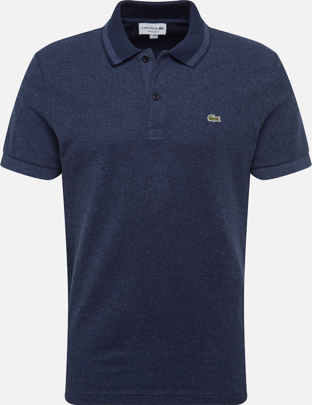 LACOSTE Poloshirt 'CHEMISE COL BORD-COTES MA' in indigo, Produktansicht