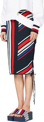 TOMMY HILFIGER Pencil Skirt 'GIGI HADID INTARSIA'