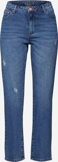 VILA Jeans 'VIANNABEL RWRE 7/8 JEANS/ DES' in de kleur Blauw denim, Productweergave
