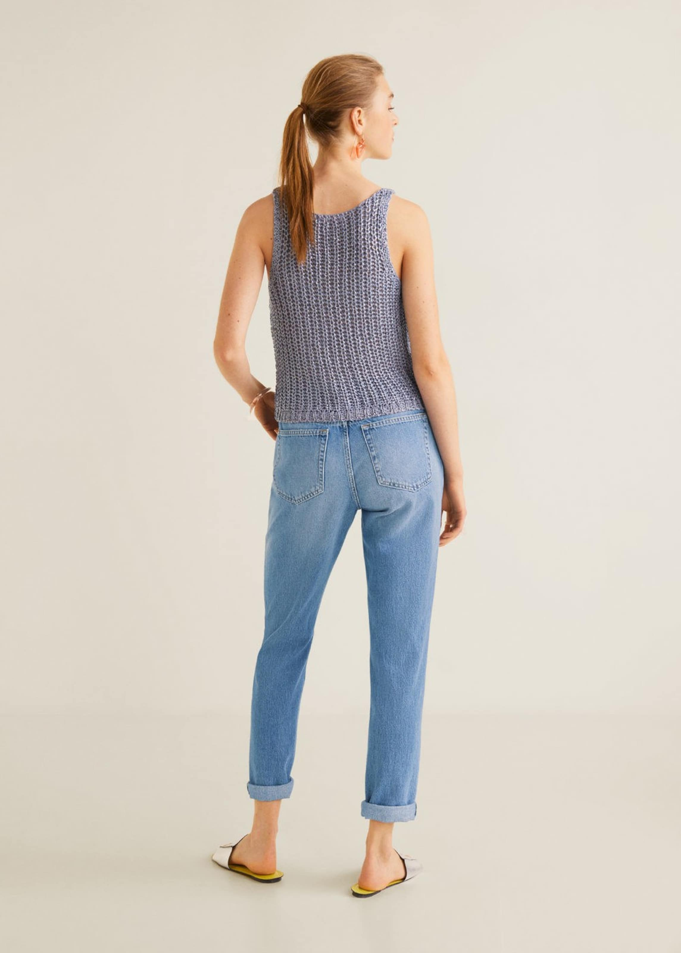 Mango Jeans Denim In 'relax' Blue OkXTiZuP