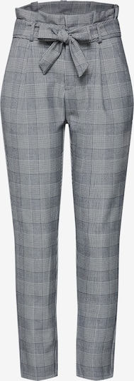 VERO MODA Pantalon à plis 'VMEVA' en gris / blanc, Vue avec produit
