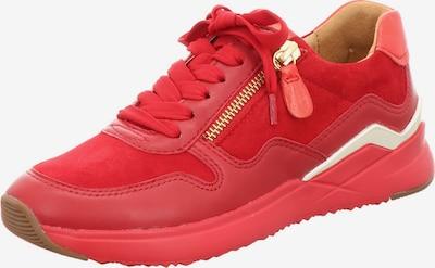 GABOR Sneakers in hellrot / weiß, Produktansicht