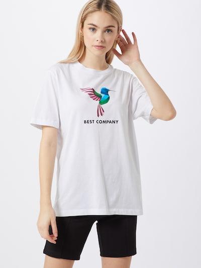 Best Company Shirt 'COLIBRI' in weiß: Frontalansicht