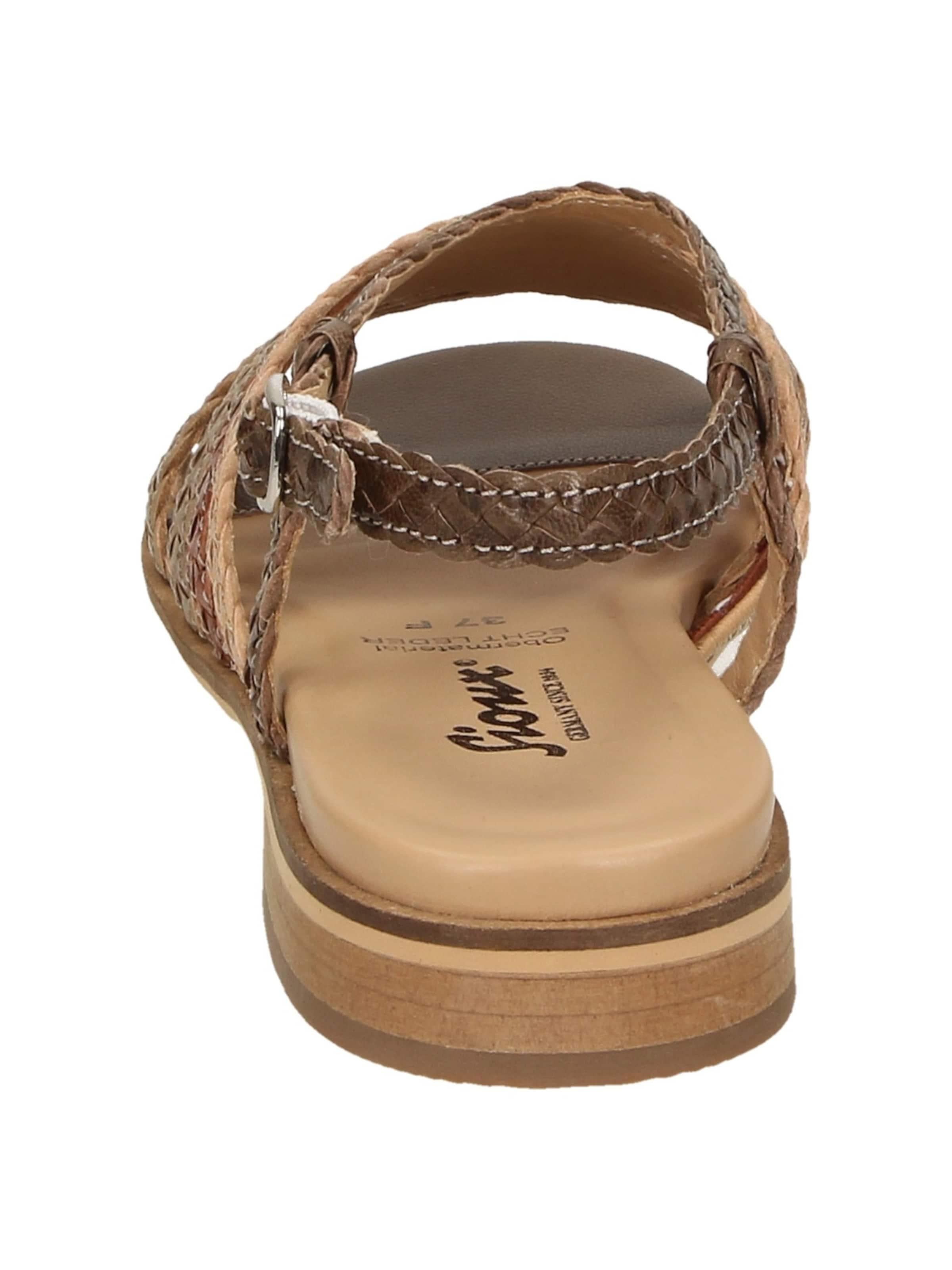 In 702 BeigeBraun Sioux ' Husniya Rot Sandale ZPiuXk