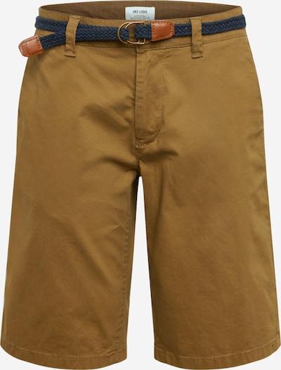 Pantaloni eleganți Only & Sons pe auriu, Vizualizare produs