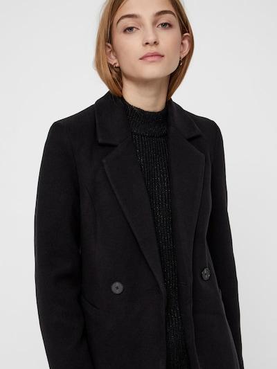 VERO MODA Between-seasons coat in black, View model