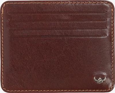 GOLDEN HEAD Kreditkartenetui 'Colorado' in braun, Produktansicht