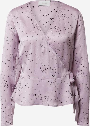 Neo Noir Bluse 'Rosalie' in lavendel, Produktansicht