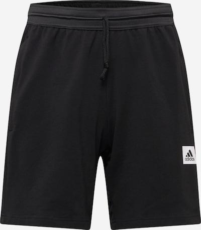 ADIDAS PERFORMANCE Sportbroek 'M D2M MOTION SH' in de kleur Zwart / Wit, Productweergave
